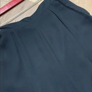 Liz Claiborne Skirts - Vintage black crepe princess seamed skirt